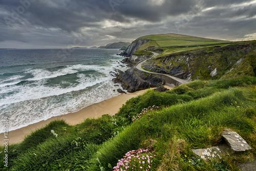 Rocky coastline at Slea Head on Dingle Peninsula, Ireland
