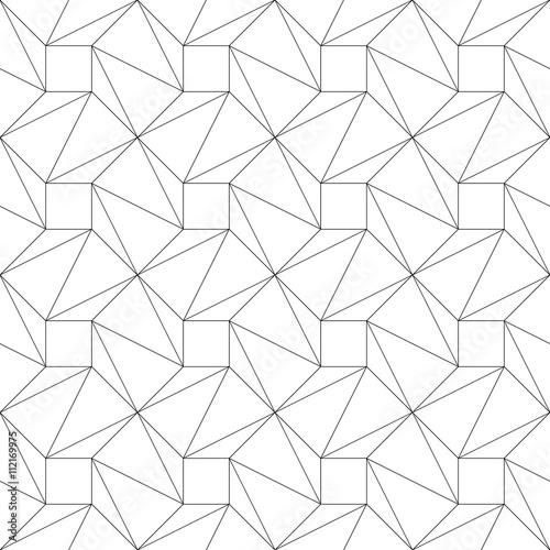 monochromatyczny-geometryczny-cienkiej-linii