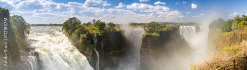 Küchenrückwand aus Glas mit Foto Wasserfalle Victoria Falls Africa Panorama