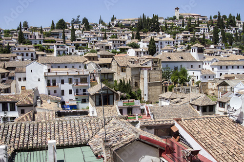 Old Town of Granada Spain - Buy this stock photo and explore similar