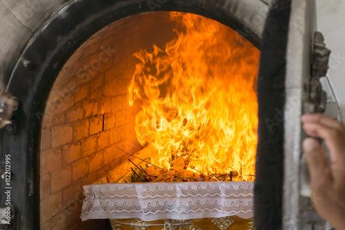 Valokuva  Buddhist Thai Crematory