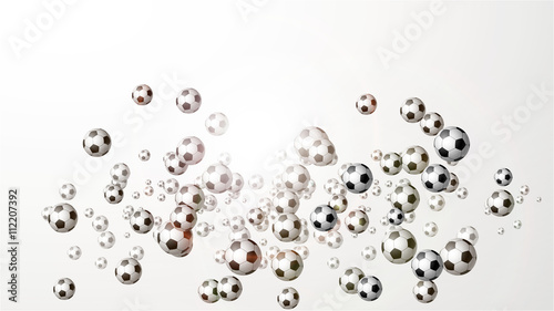 piłka nożna tło wektor - 112207392