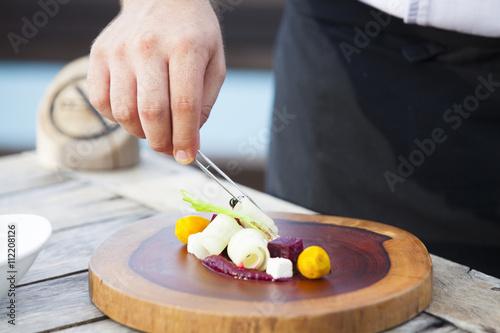 Foto op Plexiglas Luxury restaurant menus