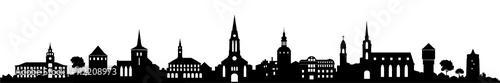 Obraz Skyline Bautzen / Sachsen - fototapety do salonu