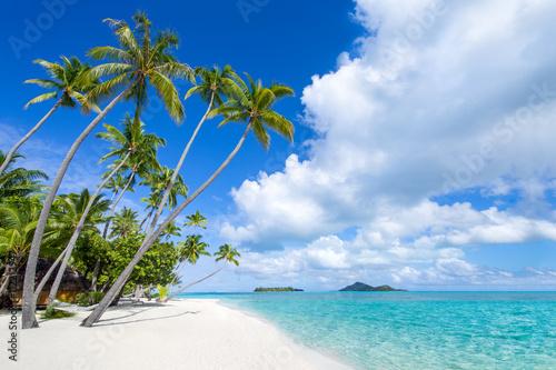Deurstickers Tropical strand Strand und Meer auf den Malediven