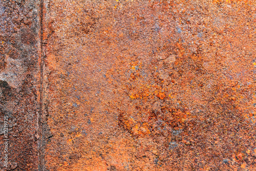 Abstract Background Texture Of Rusty Dirty Iron Metal Plate Old Red Rusted