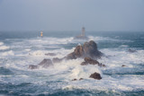 Tempête sur le phare de la Vieille - Pointe du Raz
