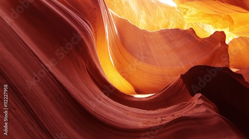 Keuken foto achterwand Bordeaux Lower Antelope Canyon, Arizona, USA