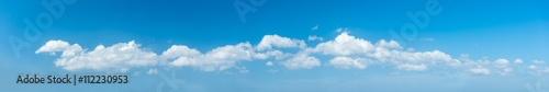 Aluminium Prints Heaven Blue sky ,panorama sky background