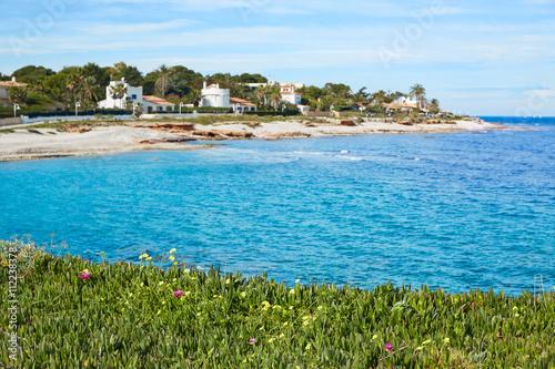 Denia Las Rotas in Mediterranean sea Alicante Poster