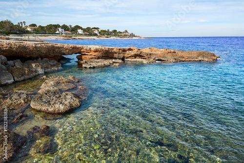 Photo  Denia Las Rotas in Mediterranean sea Alicante