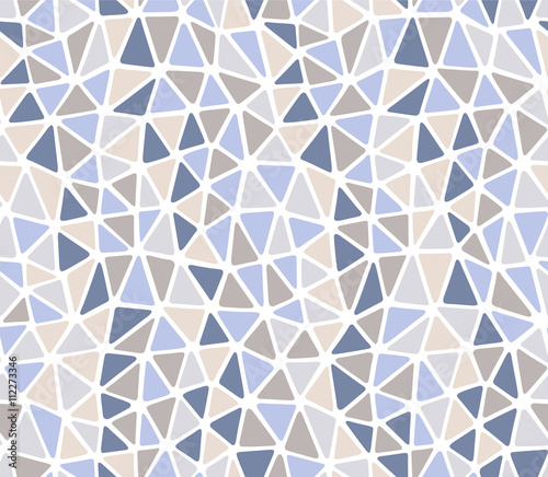 Soft edges triangles ligth stone colors repeat pattern