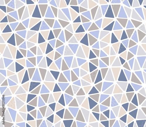 Miękkie krawędzie trójkąty ligth kamień kolory powtarzają wzór