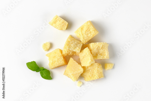 parmesan cheese pieces