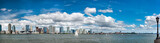 Fototapeta Nowy York - new jersey landscape from manhattan new york city