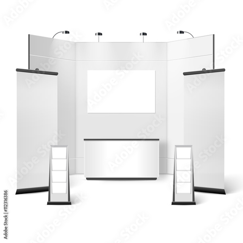 Exhibition Stand Blank Design - Buy this stock vector and