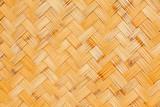 Fototapeta Bambus - panneau de bambou tressé
