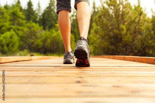Fotografie, Obraz  Adventure and exercise concept