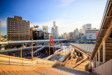 Ueno District View From The Ue...