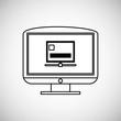 Technology design. media icon. Colorful illustration , vector