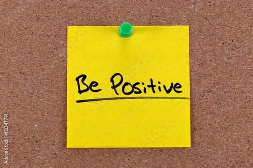 Photo  be positive concept