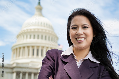 Photographie  Successful woman in Washington, DC