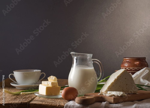 Poster Dairy products dairy products