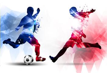 Fototapeta na wymiar Calcio, Competizione, Europei