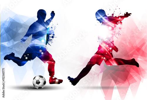 Deurstickers Bol Calcio, Competizione, Europei