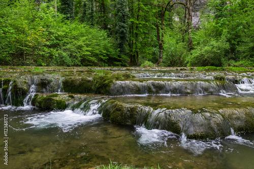 Keuken foto achterwand Bos rivier Rivière le Dard