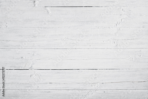 Türaufkleber Holz White weathered and painted wood texture