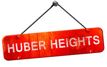 Huber Heights, 3D Rendering, A Red Hanging Sign