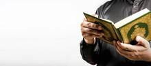 Koran In Hand - Holy Book Of Muslims ( Public Item Of All Muslims )