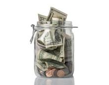 Tip Jar Overflowing