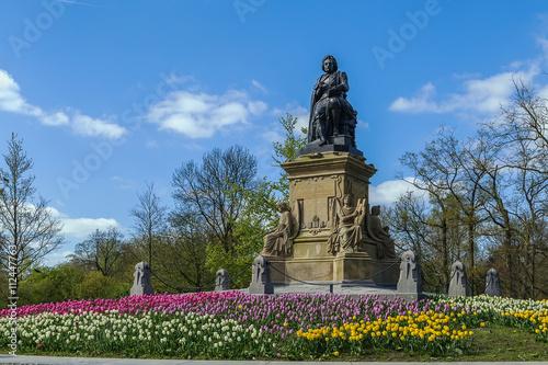 Photo  Joost van den Vondel monument, Amsterdam