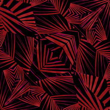 Sharp Tribal Pattern