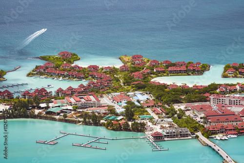 Fotografie, Obraz  Eden Island, Mahe, Seychelles