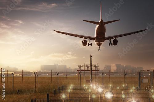 Landing Plakat
