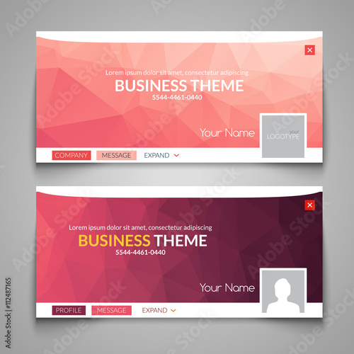 Web Business Site Design Header Layout Template Creative Corporate Advertisement Cover Web Design Layout Banner Header Web Design Buy This Stock Vector And Explore Similar Vectors At Adobe Stock Adobe Stock