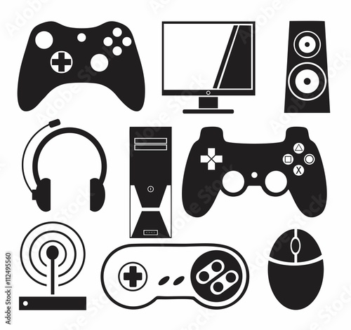 Fotomural Games vector