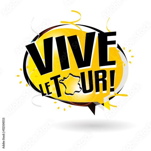Fotografie, Obraz  Vive le tour