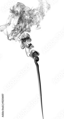 Fototapeten Tanzschule Abstract dark smoke