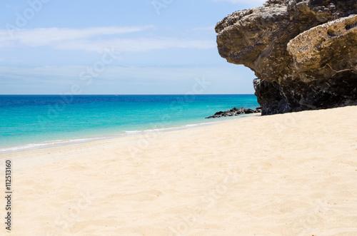 Aluminium Prints Beach Strand am Indischen Ozean