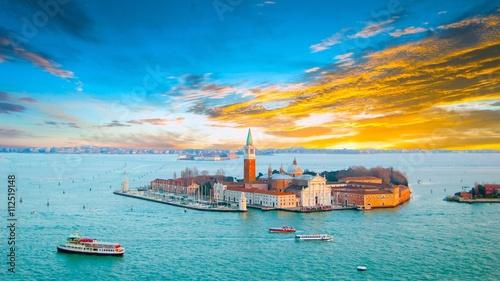 Foto auf AluDibond Schiff Venise, Venice, Italie, Italy