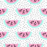 Seamless Watermelon Pattern - 112552593