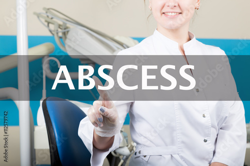 technology, internet and networking in medicine concept - medical doctor presses abscess button on virtual screens Canvas Print