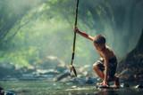Boy Fishing - 112590939