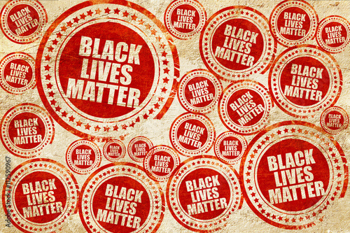 black lives matter, red stamp on a grunge paper texture Tapéta, Fotótapéta