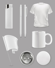 Promotional Items, Vector Set ...