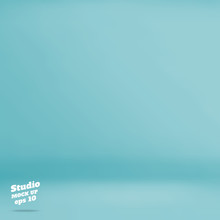 Vector :Empty Pastel Turquoise...